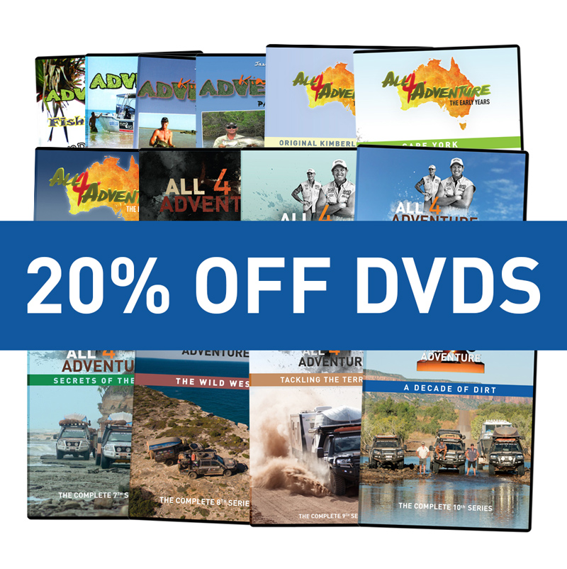 20 percent off DVDs