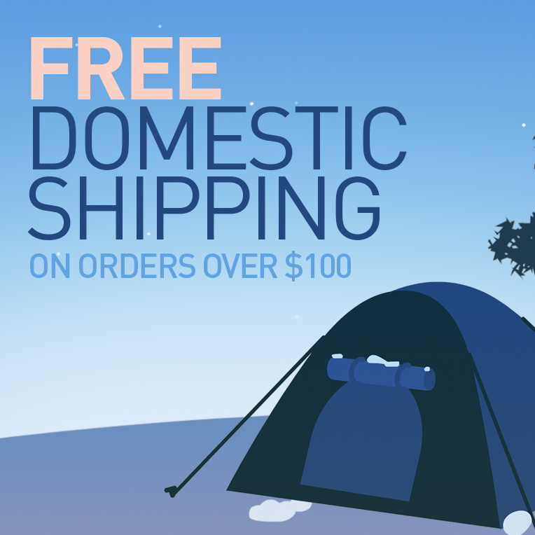 free domestic shipping