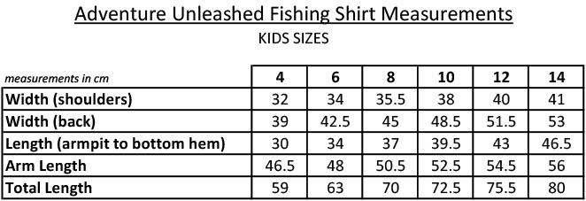 KidsFishingSizes
