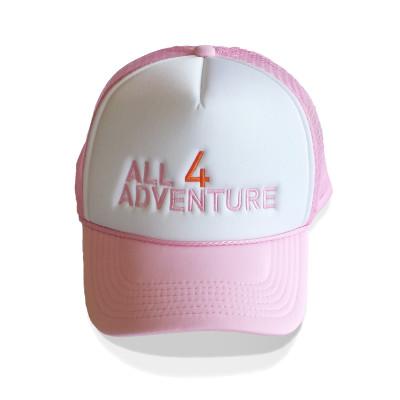 PinkTruckerFront