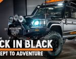 Back in Black: Concept to Adventure