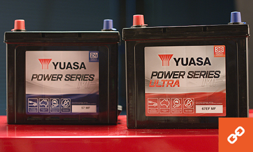 Battery World Yuasa batteries