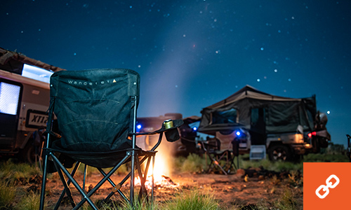 BCF Wanderer camp chairs