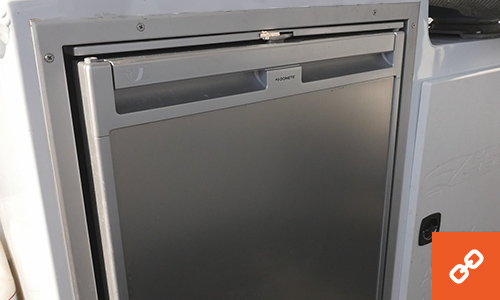 Dometic fridge on boat