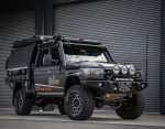 BREAKING NEWS: Get your chance to win Jase's 'Back in Black' 79 Series Landcruiser!