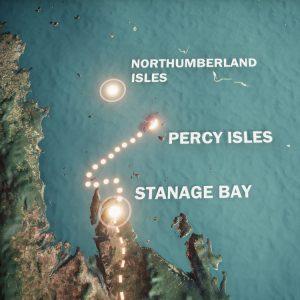 Queensland coast map